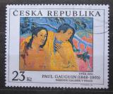 Poštovní známka Česká republika 1998 Umění, Paul Gauguin Mi# 191