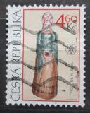 Poštovní známka Česká republika 1999 Lidové umění Mi# 228
