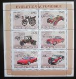 Poštovní známky Komory 2008 Automobily Mi# 1831-36 Kat 14€