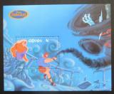 Poštovní známka Grenada 1998 Disney, Herkules Mi# Block 491