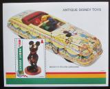 Poštovní známka Sierra Leone 1995 Disney, staré hračky Mi# Block 282