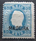 Poštovní známka Madeira 1880 Král Ludvík I. Mi# 28 Kat 120€