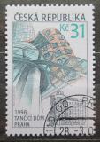 Poštovní známka Česká republika 2001 Tančící dům v Praze Mi# 286