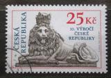 Poštovní známka Česká republika 2003 Socha lva, Josef Max Mi# 345