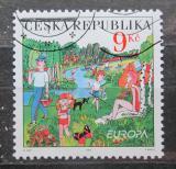 Poštovní známka Česká republika 2004 Evropa CEPT, prázdniny Mi# 395