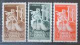 Poštovní známky Španělská Sahara 1953 Královská geografická společnost Mi# 132-34