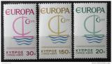 Poštovní známky Kypr 1966 Evropa CEPT Mi# 270-72 Kat 5€