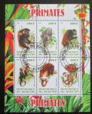 Poštovní známky Burundi 2011 Opice Mi# N/N