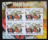 Poštovní známky Burundi 2012 Hasiči DELUXE neperf. Mi# 2425 B Block