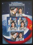 Poštovní známky Burundi 2012 Sovětský průzkum vesmíru DELUXE Mi# 2431-32 B Block
