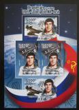 Poštovní známky Burundi 2012 Sovětský průzkum vesmíru DELUXE Mi# 2433-34 B Block
