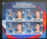 Poštovní známky Burundi 2012 Sovětský průzkum vesmíru DELUXE Mi# 2435 B Block