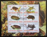 Poštovní známky Čad 2010 Želvy Mi# N/N