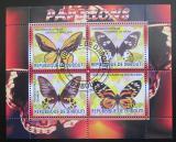 Poštovní známky Poštovní známky Džibutsko 2008 Motýli Mi# N/N