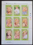 Poštovní známky Gambie 1993 Marilyn Monroe Mi# 1635-43 Kat 15€