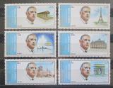 Poštovní známky Šardžá 1972 Charles de Gaulle a Paříž Mi# 875-80