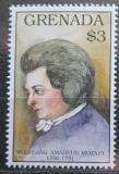 Poštovní známka Grenada 1992 Wolfgang Amadeus Mozart Mi# 2516 Kat 7€
