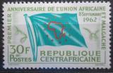 Poštovní známka SAR 1962 Vlajka Africké poštovní unie Mi# 30