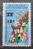 Poštovní známka SAR 1967 Květiny přetisk Mi# 125