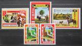 Poštovní známky SAR 1970 Projekt rozvoje Bokassa Mi# 208-12 Kat 14€