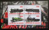 Poštovní známky Burundi 2010 Lokomotivy Mi# N/N