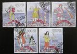 Poštovní známky Guinea-Bissau 2009 Piráti Mi# 4498-4502 Kat 14€