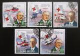 Poštovní známky Guinea-Bissau 2009 John Flynn Mi# 4515-19 Kat 14€