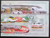 Poštovní známka Guinea-Bissau 2006 Lokomotivy Mi# 3385 Kat 12€