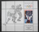 Poštovní známka Česká republika 1998 ZOH Nagano, lední hokej Mi# Block 8