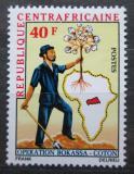Poštovní známka SAR 1972 Pěstování bavlníku Mi# 270