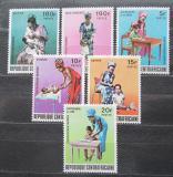 Poštovní známky SAR 1972 Matky Mi# 298-303
