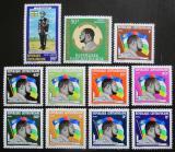 Poštovní známky SAR 1973 Prezident Bokassa Mi# 328-38