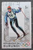 Poštovní známka Burundi 1968 ZOH Grenoble, lyžování Mi# 386
