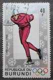 Poštovní známka Burundi 1968 ZOH Grenoble, rychlobruslení Mi# 391