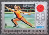 Poštovní známka Burundi 1972 ZOH Sapporo, krasobruslení Mi# 845