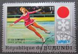 Poštovní známka Burundi 1972 ZOH Sapporo, krasobruslení Mi# 846