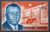 Poštovní známka Burundi 1963 Princ Louis Rwagasore Mi# 43