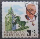Poštovní známka Burundi 1967 Winston Churchill Mi# 317
