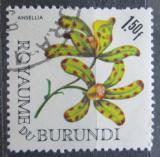 Poštovní známka Burundi 1966 Ansellia gigantea Mi# 219