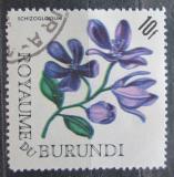 Poštovní známka Burundi 1966 Schizoglossum spathulatus Mi# 227