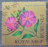 Poštovní známka Burundi 1966 Dissotis magnifica Mi# 233