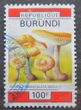 Poštovní známka Burundi 1992 Houby Mi# 1752