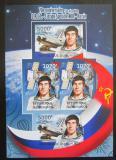 Poštovní známky Burundi 2012 Sovětský průzkum vesmíru DELUXE Mi# 2431,34 B Block