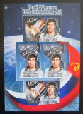 Poštovní známky Burundi 2012 Sovětský průzkum vesmíru DELUXE Mi# 2432-33 B Block