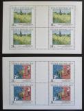 Poštovní známky Česká republika 1993 Umění Mi# 26-27 Bogen Kat 25€