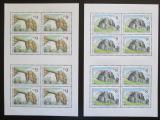 Poštovní známky Česká republika 1995 Krásy naší vlasti Mi# 78-79 Bogen