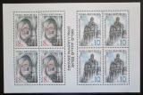 Poštovní známky Česká republika 1997 Židovské památky v Praze Mi# 142-43 Bogen