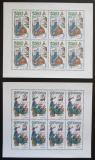 Poštovní známky Česká republika 1997 Evropa CEPT Mi# 144-45 Bogen