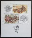 Poštovní známky Česká republika 1997 Výstava Praga Mi# Block 5
