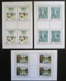 Poštovní známky Česká republika 1997 Umění Mi# 161-63 Bogen